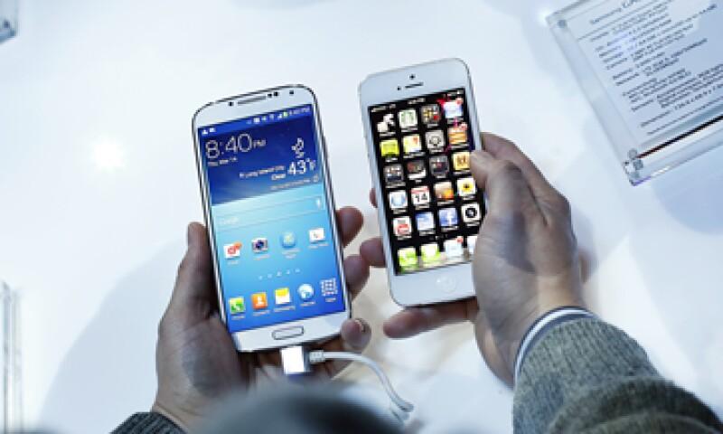 La empresa estadounidense busca prohibir las ventas de varios teléfonos de Samsung. (Foto: Getty Images)
