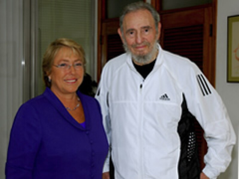 Castro se reunió el 13 de febrero con la presidenta chilena Michelle Bachelet en La Habana. (Foto: Reuters)