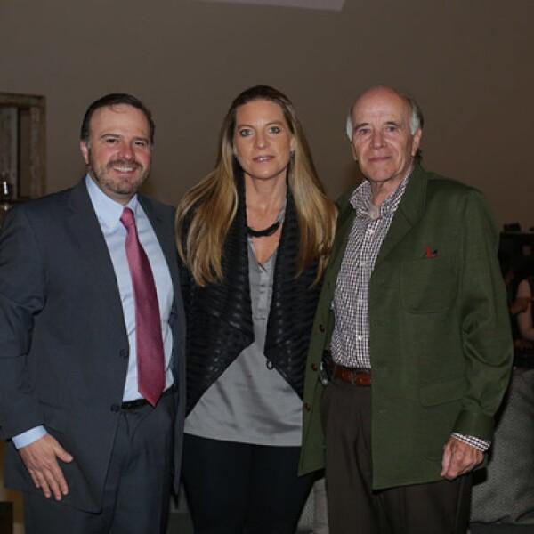 Joaquín Ordoñana,Lorena Ordoñana y Adolfo Martínez