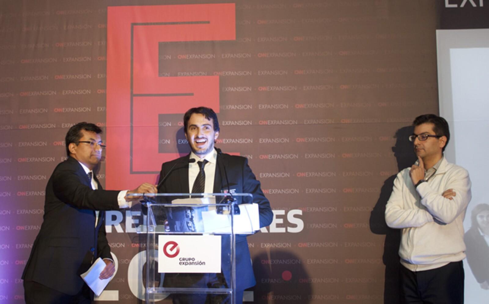 A manos de Pablo González Cid, CEO de Café Punta del Cielo y juez de Emprendedores 2012 en la categoría Alto Potencial, corrieron las últimas palabras para felicitar a los participantes de la edición.