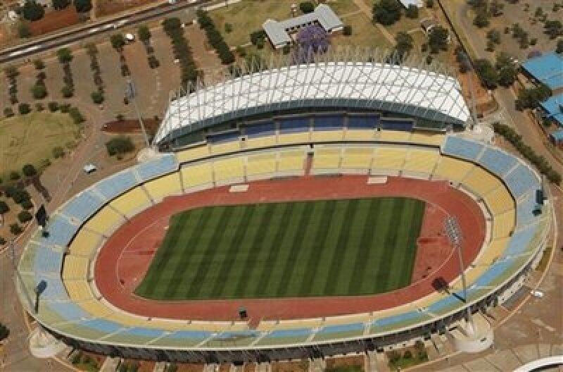 Estadio Royal Bafokeng en Rustenburg, Sudáfrica  (Foto: AP)