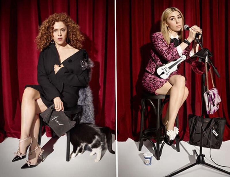 Bernaddette Petera y Zosia Mamet sacaron a su diva interna en la nueva campaña de Kate Spade.