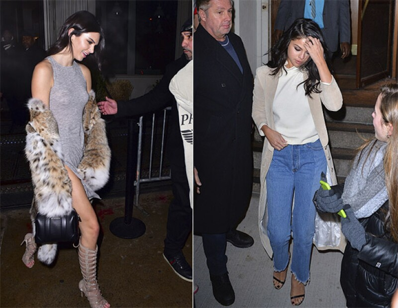 Kendall Jenner y Selena Gomez, han sido captadas en las calles, haciendo uso de esta tendencia.