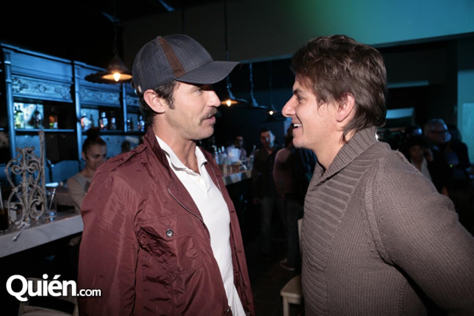 Leonardo García y Bobby Domínguez