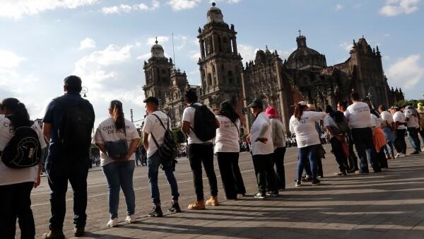 cinturón de paz marcha 2 de octubre