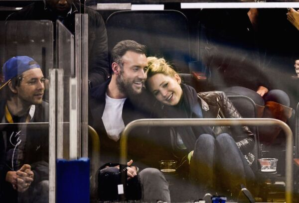 Celebrities at New York Rangers v Buffalo Sabres, NHL ice hockey match, Madison Square Garden, New York, USA - 04 Nov 2018