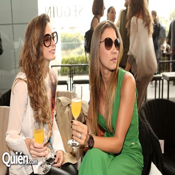 Verónica Carrillo y Larissa Barantz