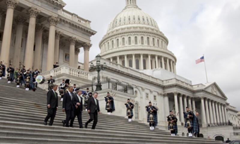 El límite legal de endeudamiento actual es de 16.394 billones de dólares. (Foto: AP)