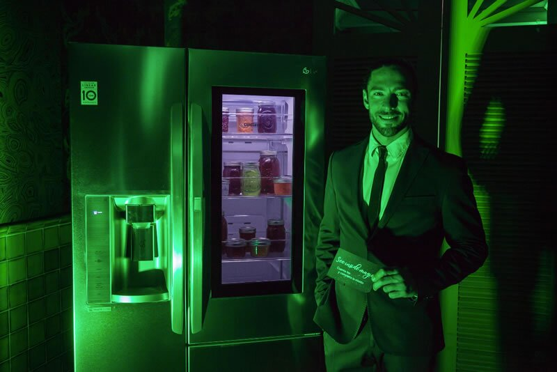Presentación de la línea LG Instaview™ Door-in-Door de LG Foto: Vianney Sandoval