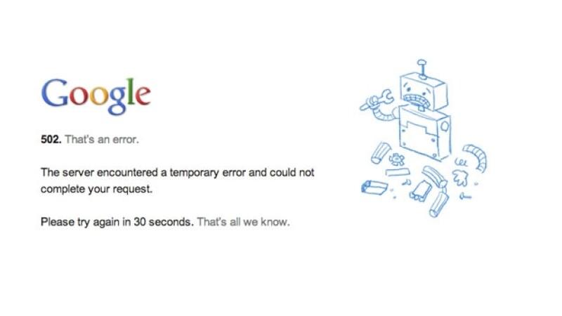 Falla en Gmail