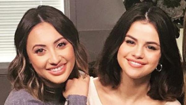 Francia Raísa y Selena Gomez