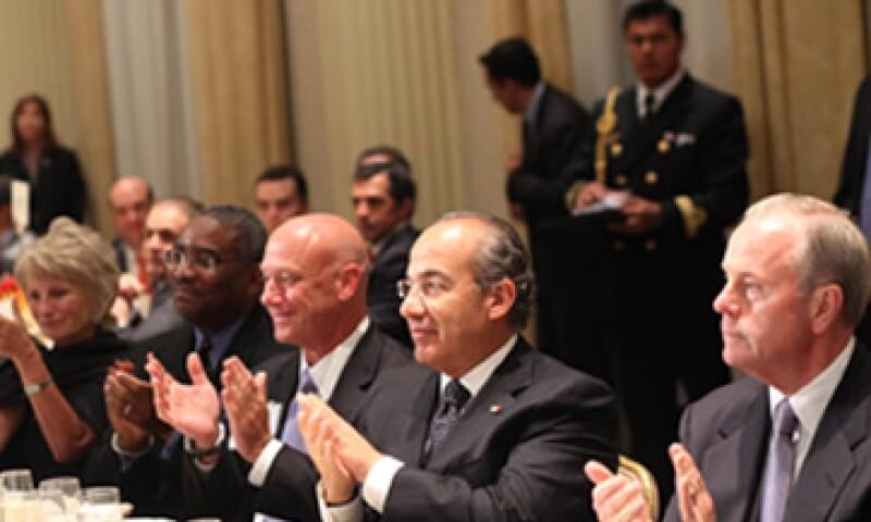 El presidente mexicano participó en la sesión inaugural de la Iniciativa Global Clinton 2011. (Foto: Notimex)