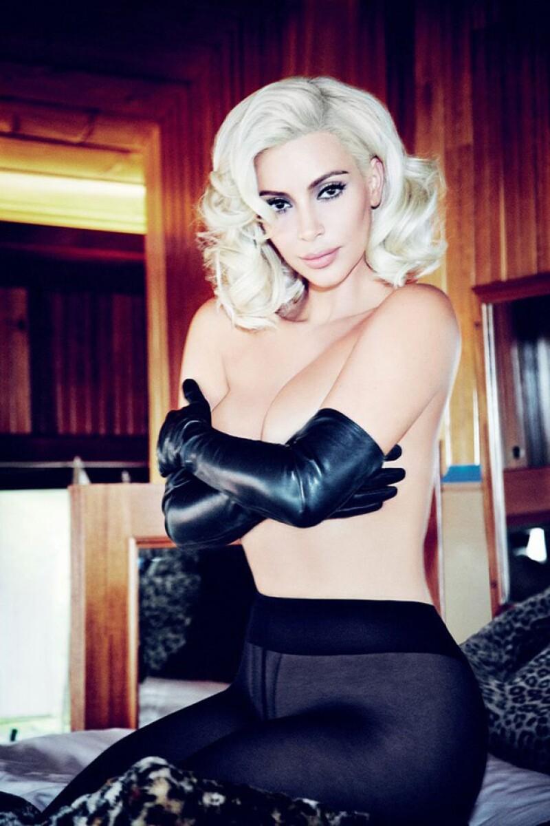 La estrella de Keeping Up with the Kardashians es la portada de junio de Vogue Brasil, que exalta la sensualidad y el poder de las curvas.
