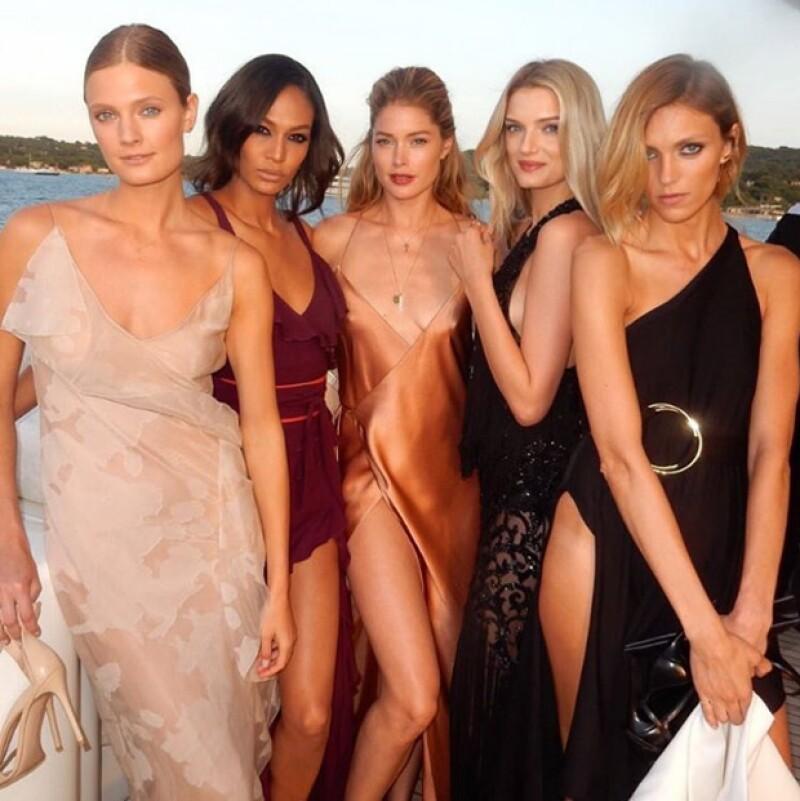 Y las supermodelos más top asistieron a este evento, que triplicó las ganancias a comparación del año pasado.