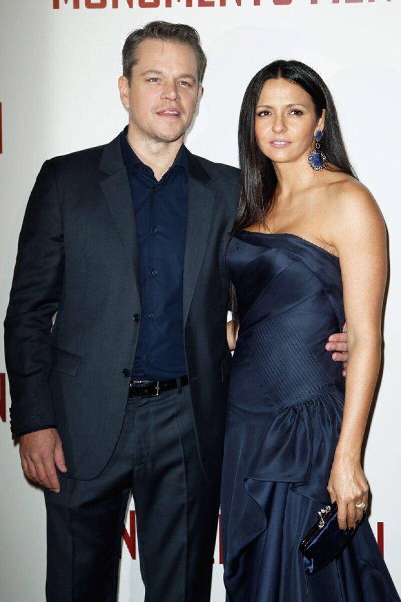 Cabe recordar, que Matt está casado con la argentina Luciana Barroso, con quien tiene tres hijas, Isabella, Gia y Stella.