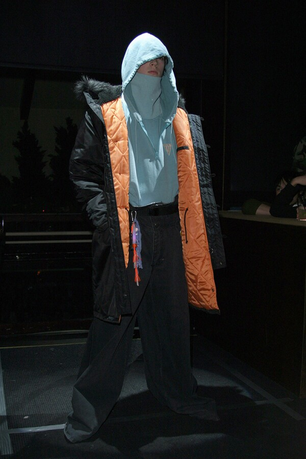 Olympus Fashion Week Fall 2004 - Raf Simons - Runway