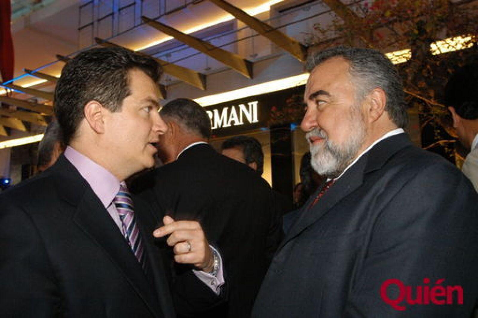 Miguel Alemán Magnani, Alejandro Encinas