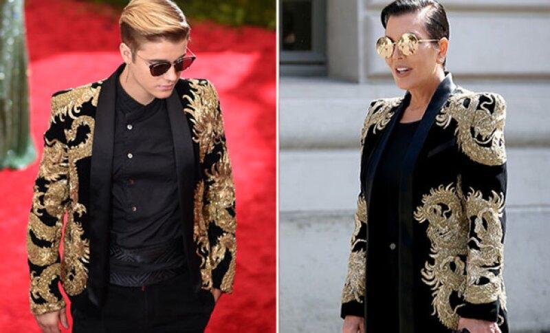 Después de que el cantante llevara el outfit de Balmain a la Met Gala, la mommager ha decidido reutilizarlo en París.