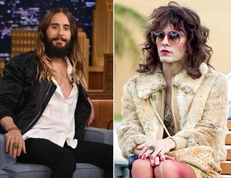 Mucho maquillaje, actitud y pérdida de peso fueron los elementos que ayudaron a Jared a transformarse.