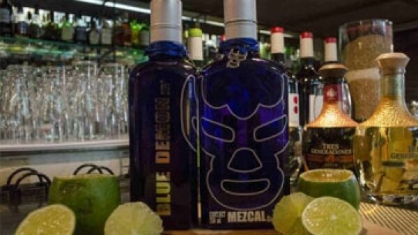 Mezcal blue demon