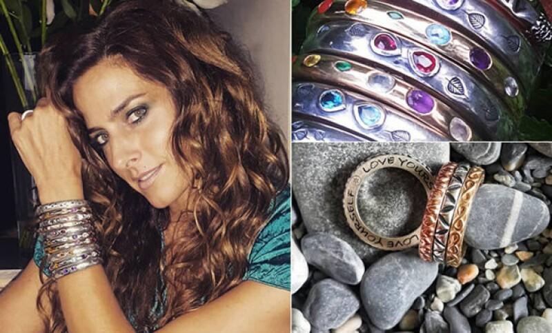 La modelo y empresaria tiene su propia línea de joyería, la cuál cuenta con piezas únicas llamadas Dhammar. ¿De qué se trata?