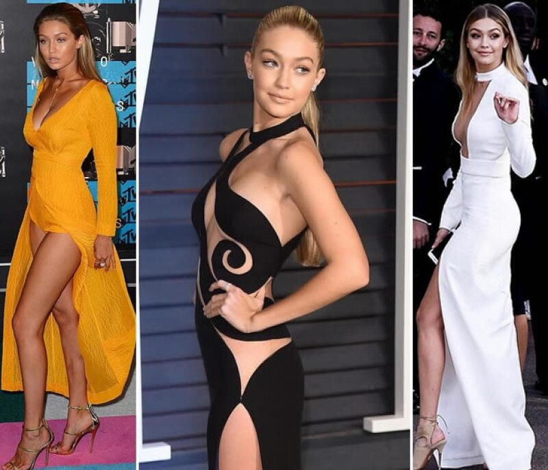 Los looks de Gigi en la red carpet