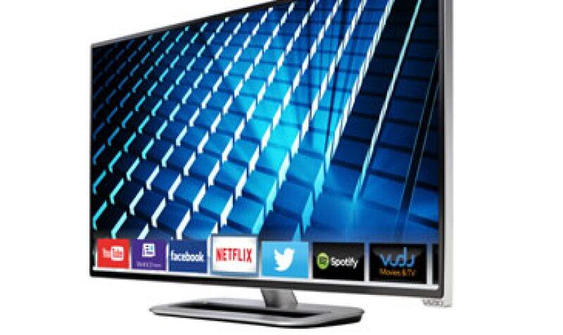 """Los precios de los equipos iniciarán en 5,000 pesos para una pantalla Full HD de 34"""" (Foto: Cortesía Vizio)"""
