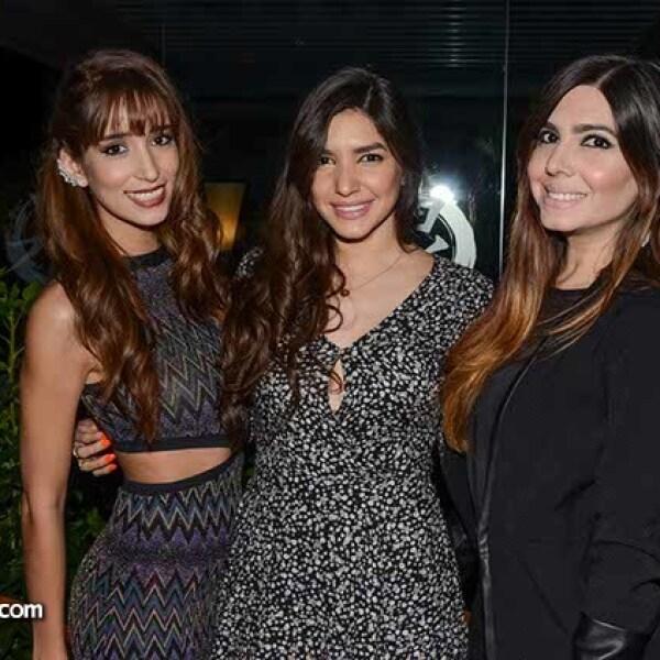 Mariana Estrada,Dayana y Natalia Chiquete.