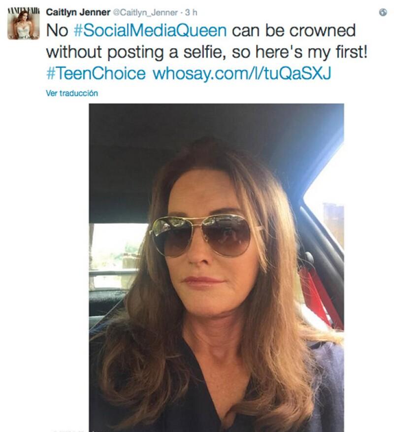 Cait oficialmente ha entrado al mundo del social media.