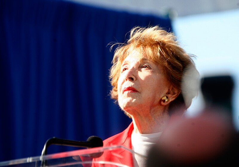 La esposa del expresidente Ronald Reagan fue una férrea portavoz de la campaña antidrogas en los años 1980; Nancy tenía 94 años de edad al momento de morir.