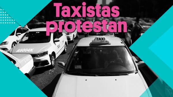 Taxistas protestan | #Clip