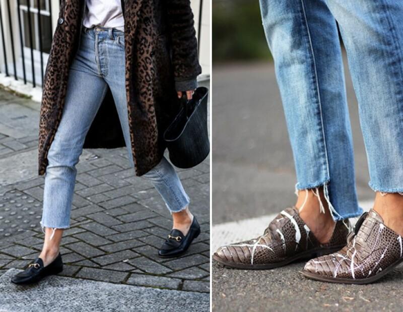 A este corte también le va muy bien los zapatos de piso. Inténtalo este fin de semana.