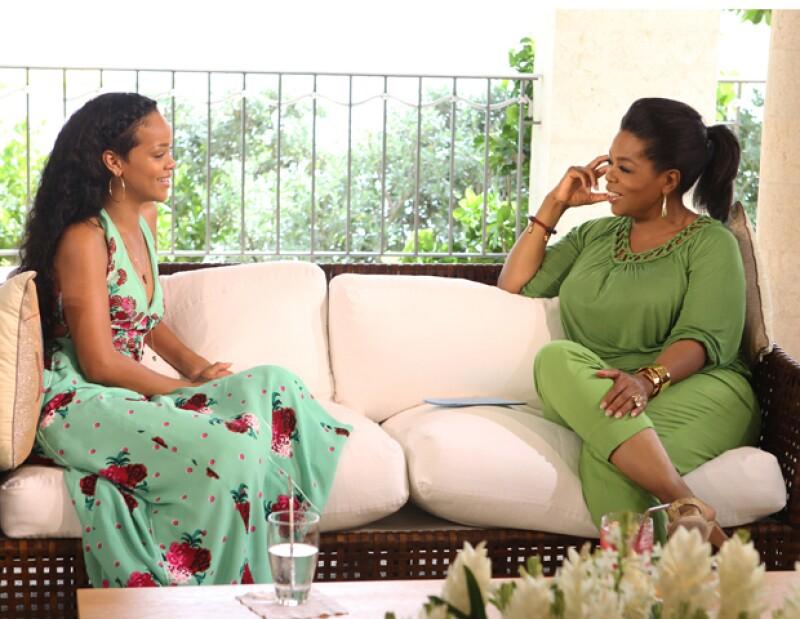 La cantante aparecerá este domingo en el programa de Oprah Winfrey y hablará sobre la agresión de la que fue objeto en el 2009 por parte de su novio.
