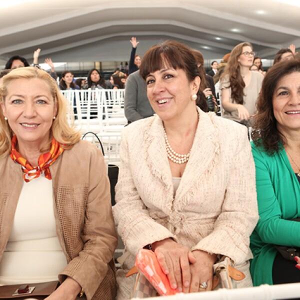 Lulú Dávalos, Nora Ricalde y Olivia Sánchez