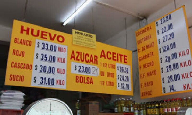 En la primera quincena de agosto, la inflación fue de 0.14%, según el INEGI. (Foto: Notimex)