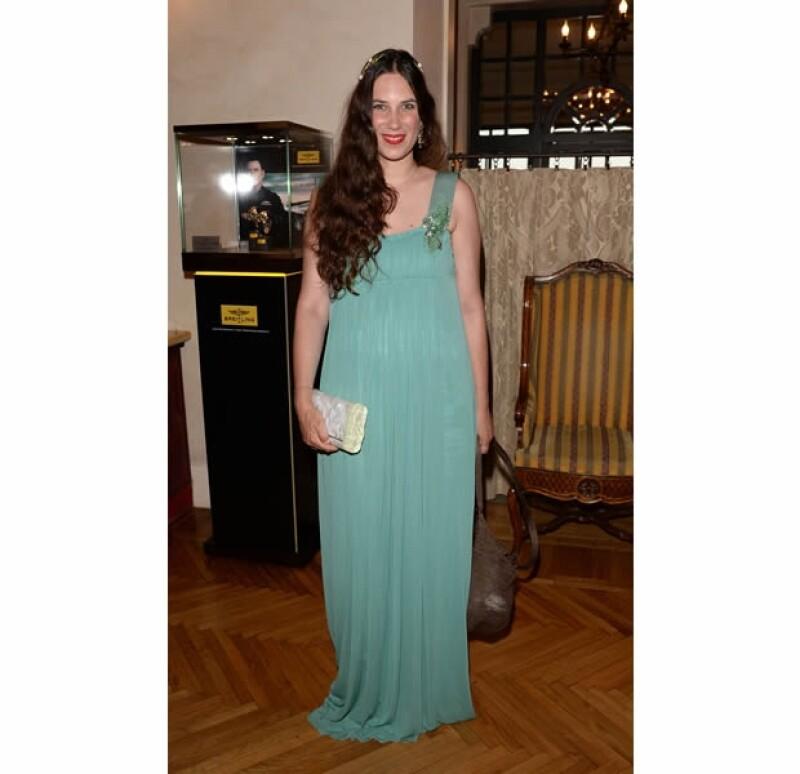 Tatiana Santo Domingo, heredera de la fortuna de su abuelo magnate, es la madre del primer nieto de Carolina de Mónaco.