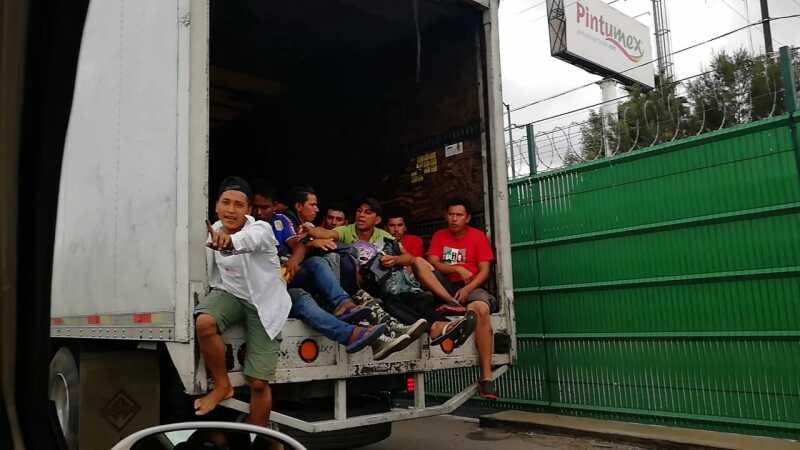 Migrantes en Puebla