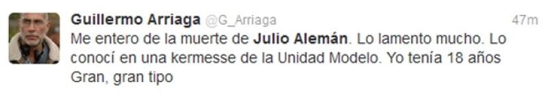 El productor de cine conoció a Julio Alemán cuando tenía 18 años.