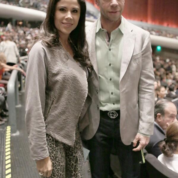 Paola Rojas y Luis Roberto Álvez `Zague´