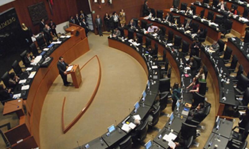 Senadores de Acción Nacional se dijeron en contra del calendario aprobado. (Foto: Cuartoscuro)