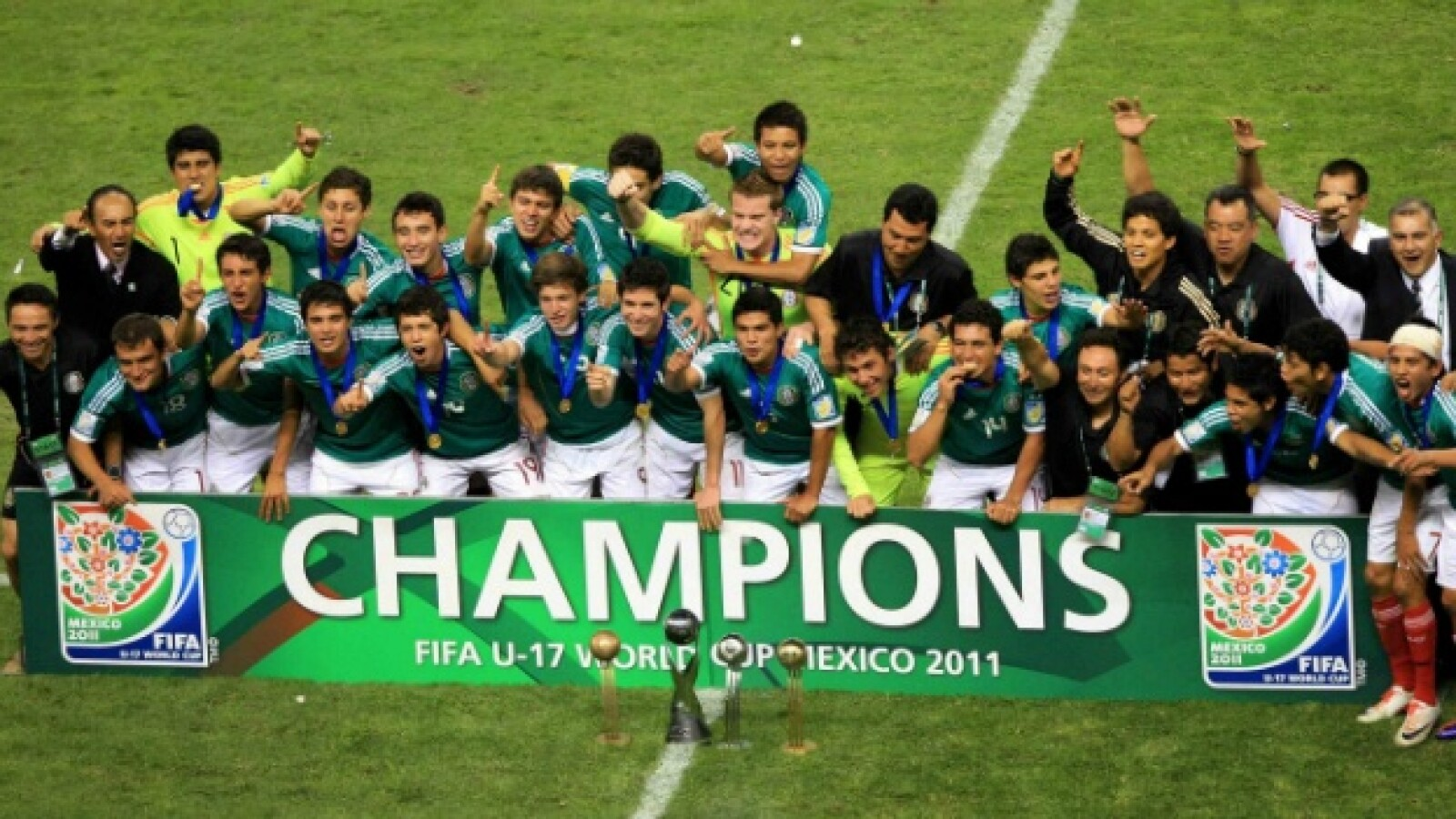 México campeón del Mundial sub 17