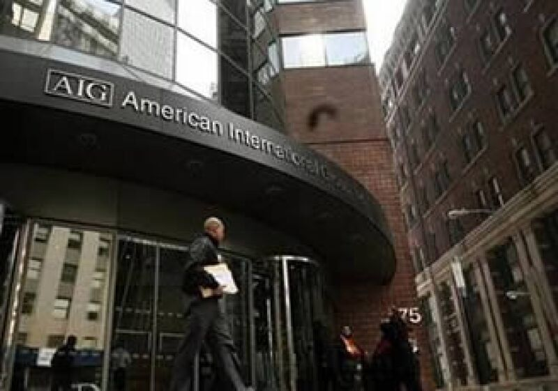 El Gobierno de EU espera la devolución completa de su inversión en AIG. (Foto: Reuters)