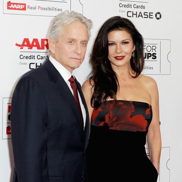 Michael Douglas y Catherine Zeta Jones