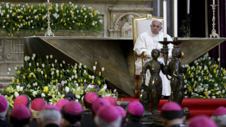 El pontifice pidió a los obispos mexicanos colaborar con otros sectores para combatir al crimen.