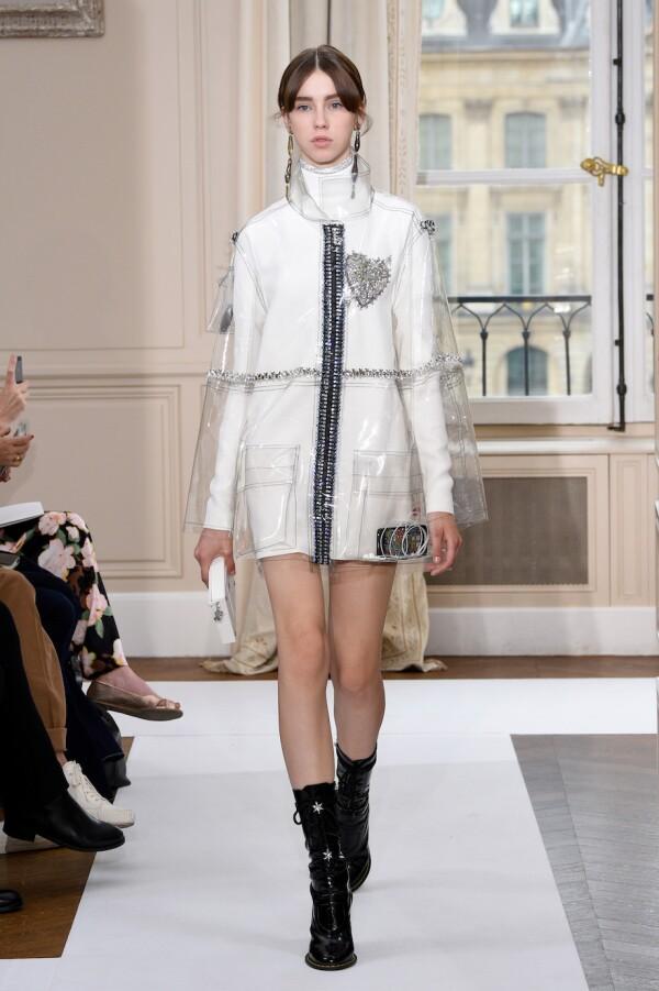 Schiaparelli : Runway - Paris Fashion Week - Haute Couture Fall/Winter 2017-2018
