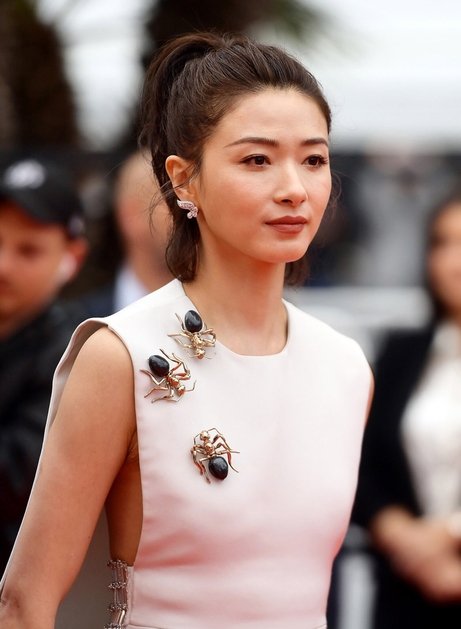 """The Wild Goose Lake (Nan Fang Che Zhan De Ju Hui/ Le Lac Aux Oies Sauvages)"" Red Carpet - The 72nd Annual Cannes Film Festival"