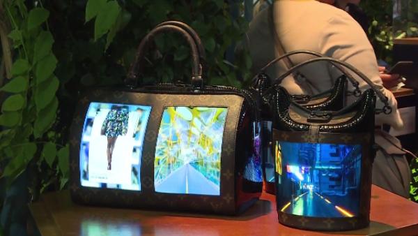 Pantallas flexibles en bolsas de mano, esta es la apuesta de Louis Vuitton