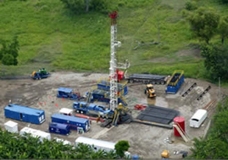 En la zona de Chicontepec se generan 29,000 barriles diarios. (Foto: Cortesía Pemex)
