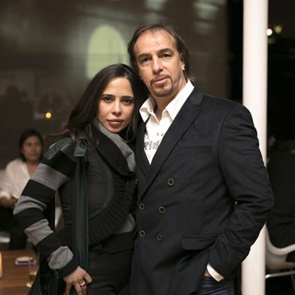 Verónica Ferro y Benny Corral