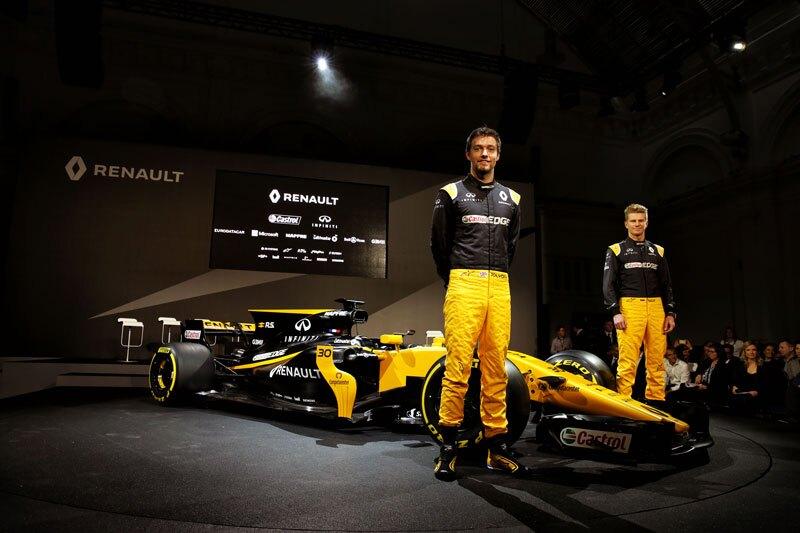 El equipo Renault Formula 1